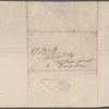 Autograph letter signed to Thomas Jefferson Hogg, 2 March 1815