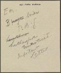 Autograph letter signed to Thomas Jefferson Hogg, 24 April 1815