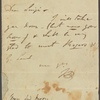 Autograph letter signed to Matthew Gregory Lewis, 6 June 1815