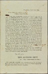 Samuel J. Tilden papers