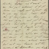 Autograph letter unsigned to Thomas Jefferson Hogg, [1 January 1811]