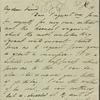"Autograph letter signed to Thomas Jefferson Hogg, [6 Jan 1811]: with holograph poem, ""Oh! take the pure gem to where the southernly breezes"""