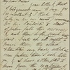 Autograph letter signed to Thomas Jefferson Hogg, [14 January 1811]