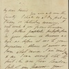 Autograph letter unsigned to Thomas Jefferson Hogg, [?19-21 January 1811]
