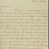 Autograph letter signed to John Hogg, 6 April 1811