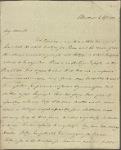Autograph letter signed to John Hogg, 6 April 1811