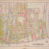 Newark, V. 1, Double Page Plate No. 12 [Map bounded by Nursery St., Passaic River, 4th Ave., Parker St.]