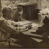 Henry Cowell at Shady, with cats