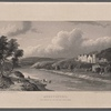 Abbotsford. Residence of Sir Walter, Scott, Bart. ; drawn by R. Westall, A.R.A. ; engraved by Edwd. Finden.