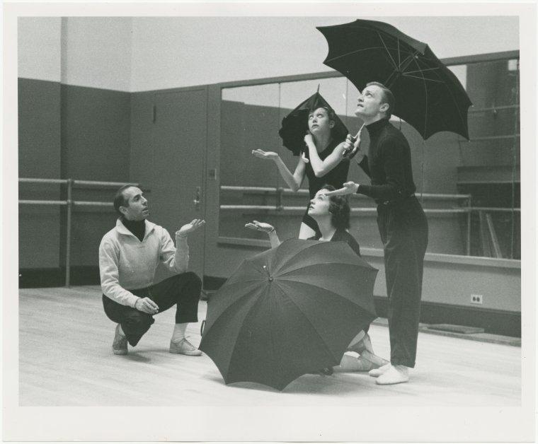 Jerome Robbins harjoittaa The Concertia