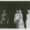 Gelsey Kirkland, Allegra Kent and other dancers in Dances at a Gathering.