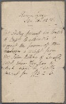 Autograph note unsigned, third person, to Brooks, Son and Dixon, 11 January 1816