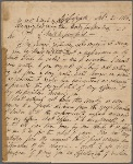 Autograph letter signed to William Godwin, 21 February 1816