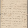 Autograph letter to William Whitton, 27 February 1816