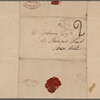 Autograph letter signed to William Godwin, 21 March 1816