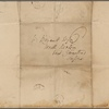 Autograph letter signed to William Bryant, 14 Apr 1816