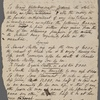Holograph will (draft), 24 June 1816