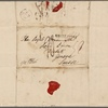 Autograph letter signed to Lord Byron, 11 September 1816