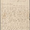 Autograph letter signed to Lord Byron, 29 September 1816