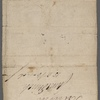 Autograph note signed to William Whitton, 23 June 1814