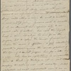 Autograph letter signed to Reverend Henry Dyson Gabell, 16 April [1787]