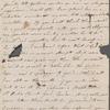 Autograph letter signed to Reverend Henry Dyson Gabell, 13 September [1787]