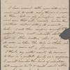 Autograph letter signed to Reverend Henry Dyson Gabell, [9-19 October 1787]
