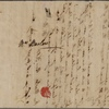 Autograph letter signed to Ruth Baldwin Barlow, 1-14 February 1793