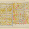 Hudson County, V. 1, Double Page Plate No. 11 [Map bounded by South St., New Jersey Junction R.R., Franklin St., Manhattan St., Hudson Blvd.]
