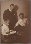 William S. Burroughs, Mortimer Burroughs, Sr., and Mortimer Burroughs, Jr., St. Louis, ca. 1920.