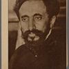 Haile Selassie. The emperor of Ethiopi[a] whose forty-fourth birth[day] was celebrated at his ca[pital?] Addis Ababa, with pomp...