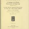 Tobacco, a catalogue of the books, manuscripts, and engravings: Volume 2, text