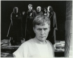 Martin Sheen in the stage production Julius Caesar, Public Theater, 1988.
