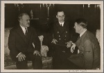 ...and the Fuhrer to conduct extensive discussions on the German-Russian relations in the context of the friendship pact between the two states.  The visit concluded with complete agreement.