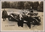 [The Fuhrer received the special envoys of the King of Saudi Arabia for a long interview at the Berghof.  The envoys of the King of Saudi Arabia on arrival.]