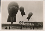 [The barrage balloons of the German Luftwaffe.]