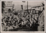 At this time the civil populations of the Westmark cities who had found themselves in the Reich at the outbreak of war returned home.  The thanksgiving of the returnees was also a time to give thanks to the Fuhrer and the Army.