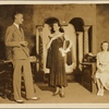 """A scene from Noël Coward's """"Hay Fever"""" as performed at Palm Beach Playhouse in 1930, L. Rodons, Director"""