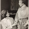 """Maggie Smith as Myra and Edith Evans as Judith in Noël Coward's production of his play, """"Hay Fever"""""""