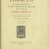 Tobacco, V. 3. 1698-1783