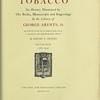 Tobacco, V. 4. 1784-1942