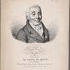 Institute Royal de France Académie française. Le Comte de Segur, (Louis Philippe.) Pair de France, Grand Croix de la légion d'honneur. Né a Paris le 10 Septembre 1753, élu en 1802.
