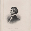 William H. Seward, secretary of state. (From Brady's daguerreotype)