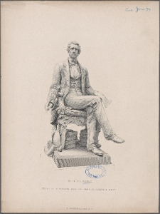 W.H. Seward / engraved by W. Roffe, from the statue by Randolph Rogers.