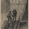Secretary Seward's attempted assassination, April 14, 1865--The assassin turning upon Mr. Frederick Seward at the door of the sick-room.