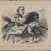 Wonderful two-horse act performed by Governor Seymour on the road between this and 1864