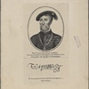 Thos. Seymour, Lord Sudley. The original picture by Holbein is in the collection of the most noble the Marquis of Buckingham. Thomas Seymour. His autograph from an originail in the possession of John Thane.