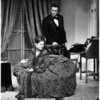 John Lithgow and Kathryn Walker (as Mr. and Mrs. Abraham Lincoln) in the stage production White House Happening by Lincoln Kirstein, Loeb Drama Center, August, 1967.