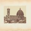 Firenze, Veduta laterale del Duomo [Florence, side view of the Duomo (Basilica di Santa Maria del Fiore)]