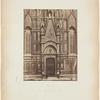 Firenze, 1a Porta Meridionale del Duomo [Florence, 1st south gate of the Duomo (Basilica di Santa Maria del Fiore)]